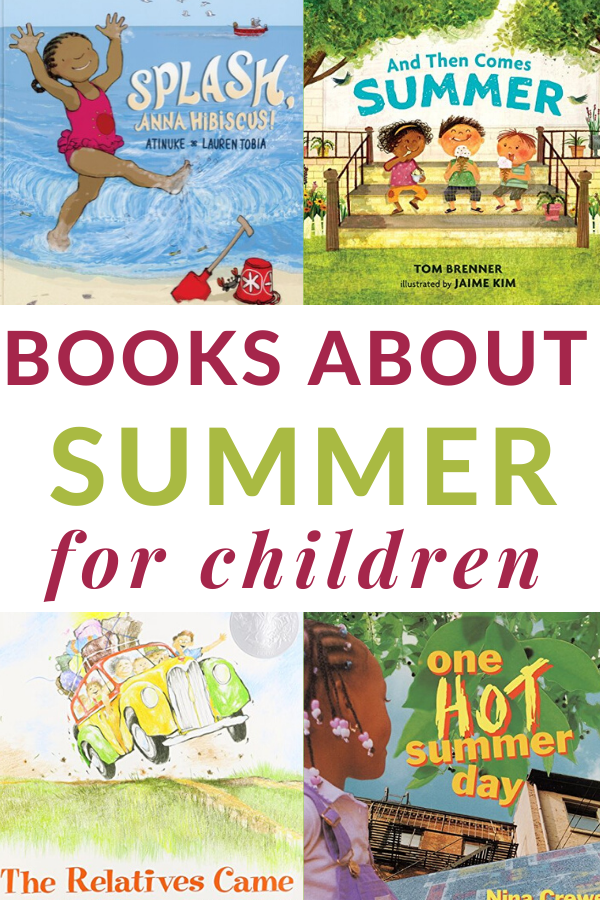 preschool books about summer