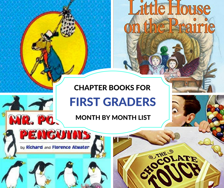 Read Aloud Chapter Books For 1st Graders Month By Month