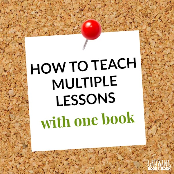 Ideas for teaching with books and using the same book for multiple lessons. A great resource for teachers of reading looking for helpful reading tips.