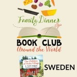Explore Sweden with kids through a Family Dinner Book Club. The featured title this month is The Children of Noisy Village. Grab your menu, conversation starters, craft idea, and family service project all for free.
