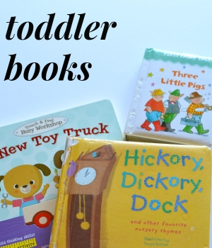 Looking for great books to read with toddlers? Here is the ultimate list of toddler books from sturdy board books to longer picture books. It's a must have list.