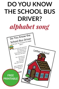 The school bus is delivering letters in this ABC learning song. It's a perfect circle time activity for toddlers and preschoolers.