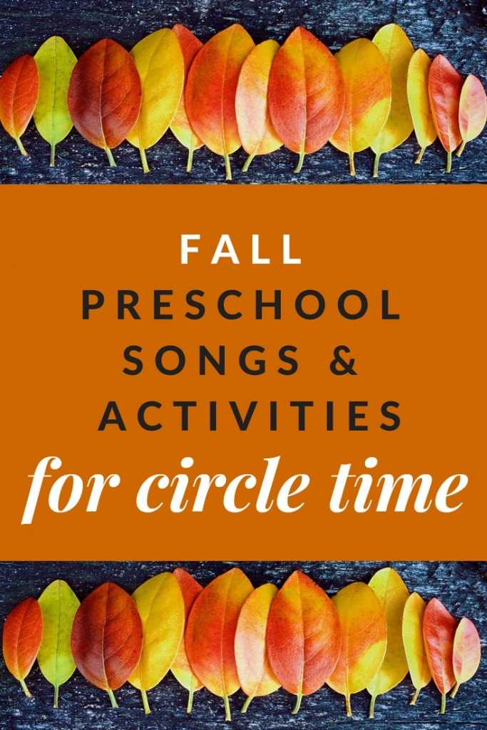 Grab these fall preschool songs, activities, and read-alouds to spice up your autumn circle time routine.
