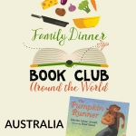 An Australian themed menu, activity, table topics, and family service project to compliment The Pumpkin Runner.