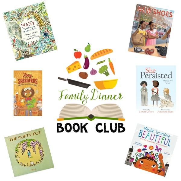 The 2018 Family Dinner Book Club lineup is full of books to build character strengths.