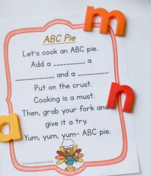 Free printable Thanksgiving poem.