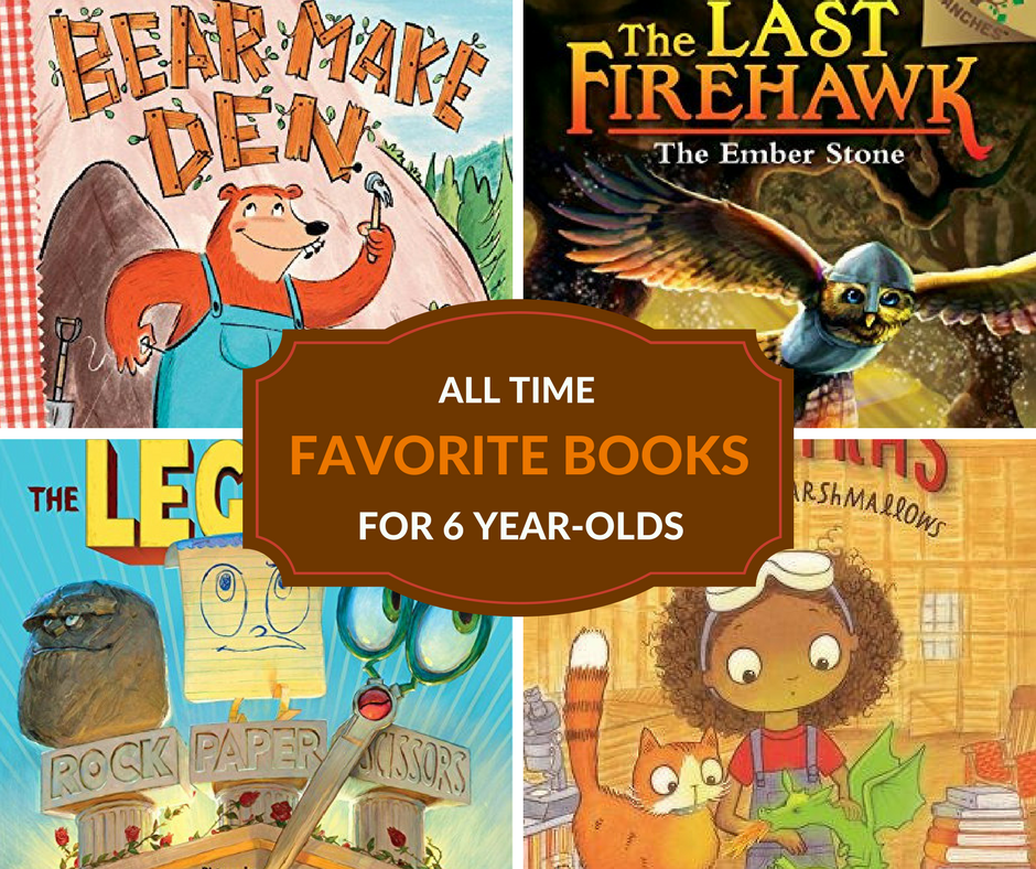 The best books for 6 year-olds that kids will love to read and listen to time and time again.