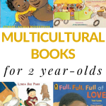 Multicultural stories for 2 year-olds that includes board books and picture books for toddlers. #booksforkids