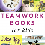 Great books to read and discuss with kids about the character strength of TEAMWORK. These books about teamwork for kids will strike up great conversations in the classroom and at home.