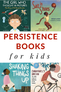 Persistence books for kids can be taught through great books for kids. #persistencebooks #determinationbooks #booksforkids