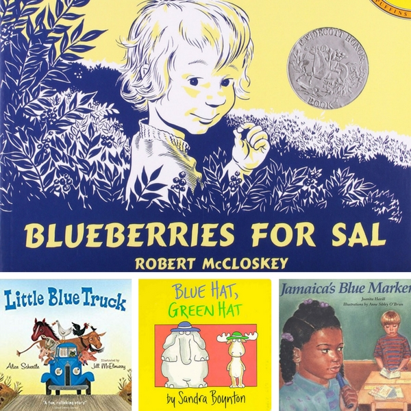 blue books for kids