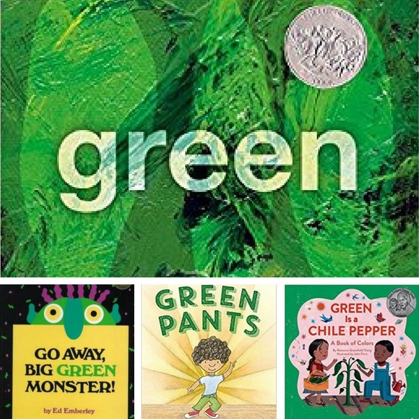 green books for kids