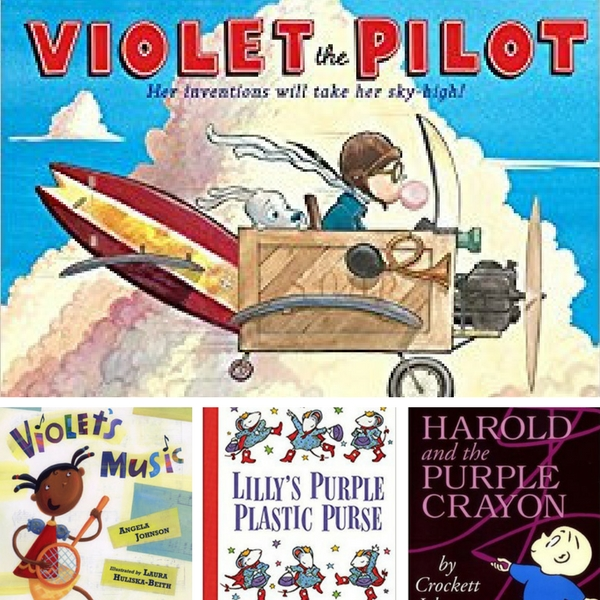 purple books for kids