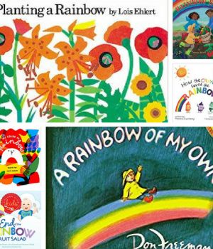 Books for kids that have rainbow in the title.