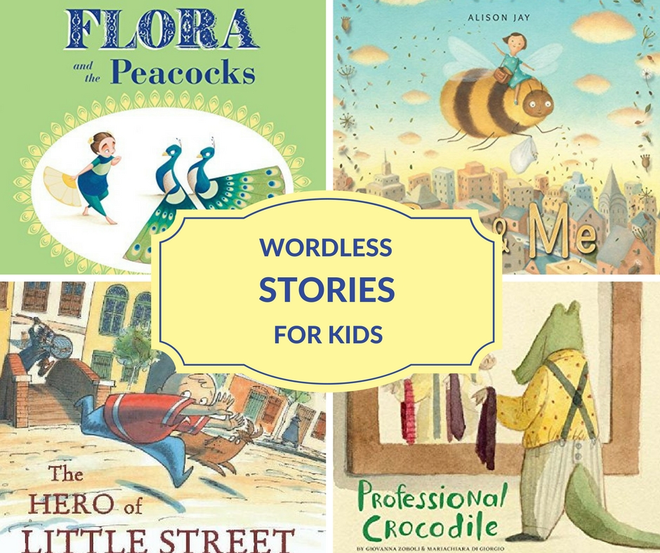 list of wordless children's books