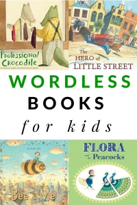 List of wordless picture books for kids