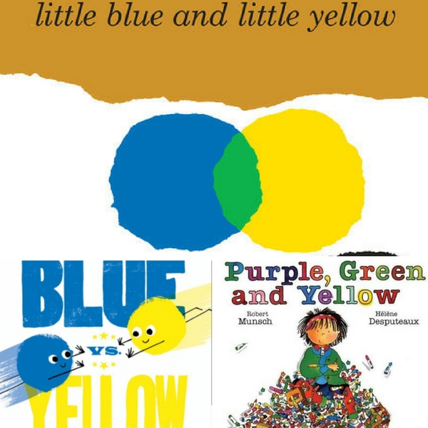 yellow books for kids