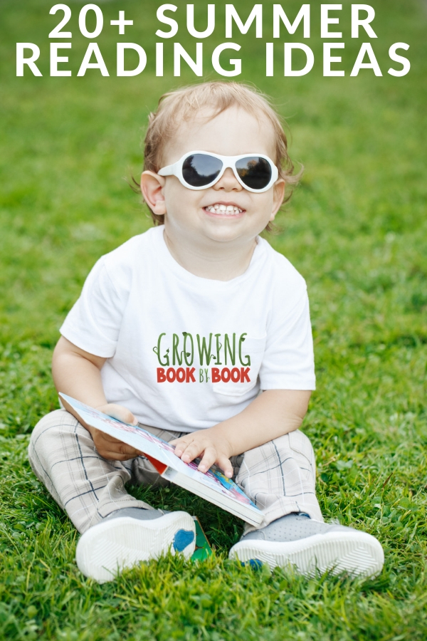 lots of summer reading ideas to engage young children and families in reading