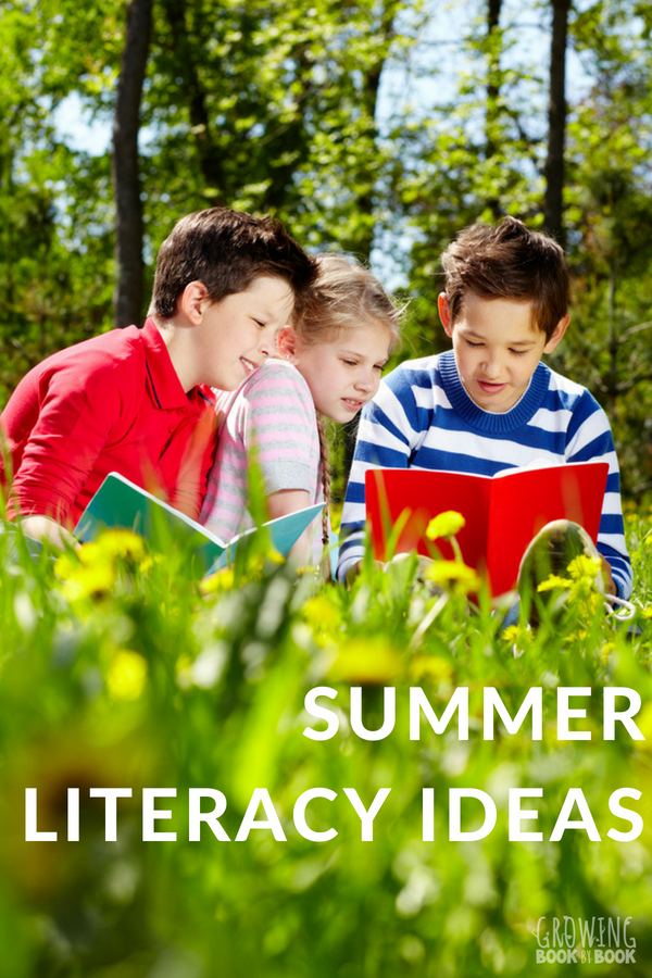 Fun summer literacy ideas to build reading skills.