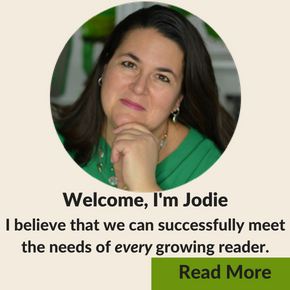 Welcome to Growing Book by Book!  Learn about the creator, Jodie Rodriguez.