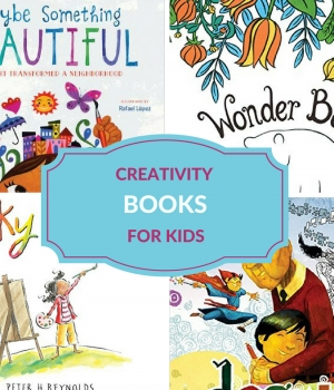 creativity book list for kids