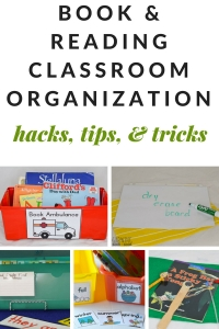 Classroom organization hacks, tips, and tricks for getting your classroom library and reading instruction ready for a new school year.