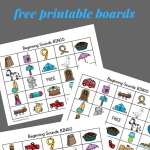 8 free printable bingo boards to work on beginning letter sounds
