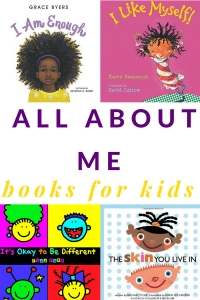 book cover images of al about me books