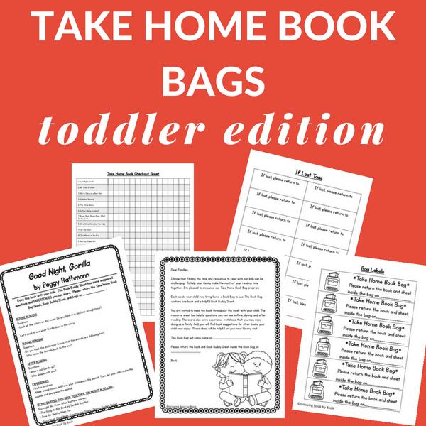 toddler literacy bag printables