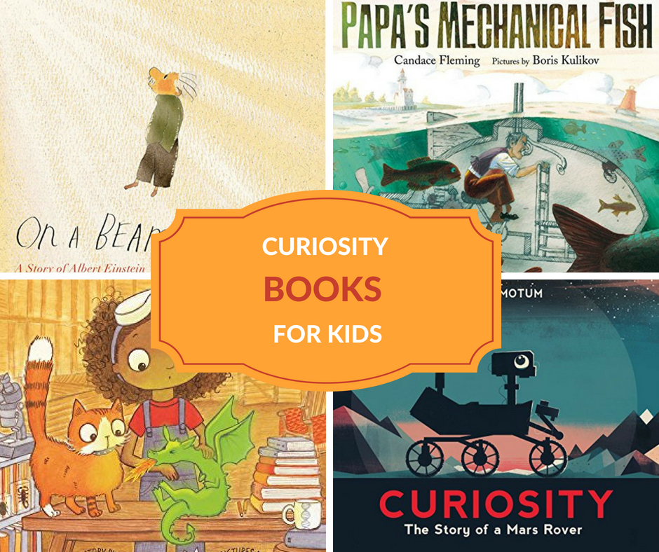 BOOKS ABOUT CURIOSITY FOR KIDS