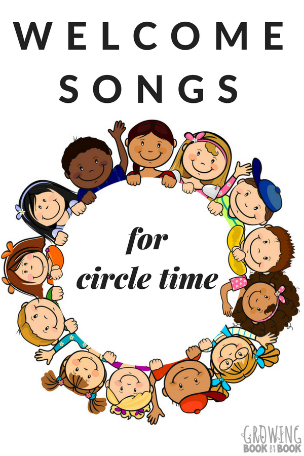picture regarding Make New Friends Song Printable known as 7 Circle Season Welcome Audio for Preschool and Kindergarten