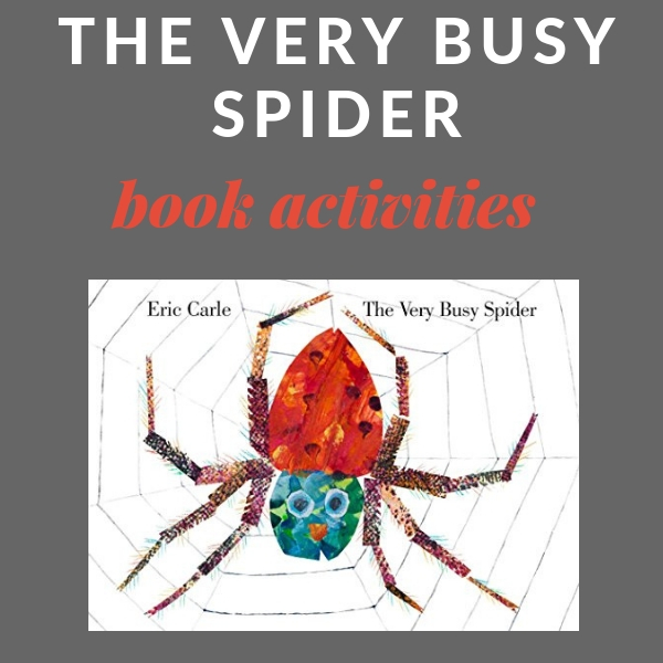 big list of the very busy spider activities
