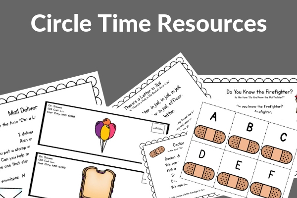 circle time activities for community workers unit