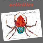 activities to do with the very busy spider activity