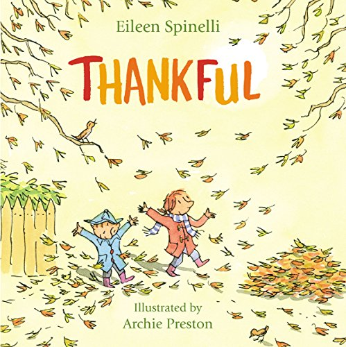 Printable List of Children's Books About Gratitude and