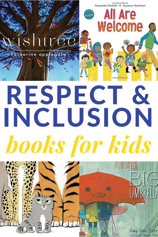 books about respect and inclusion for kids