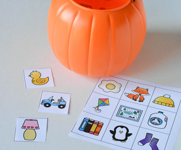 fill the pumpkin phonemic awareness game