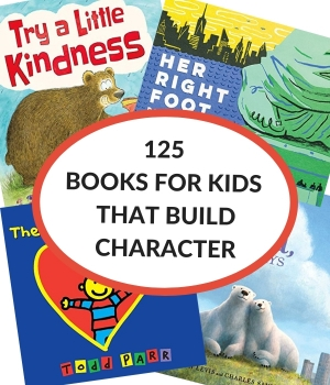 book list of character education books