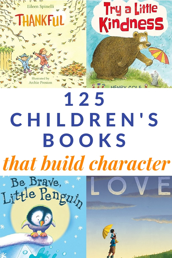 the best books for kids that build character