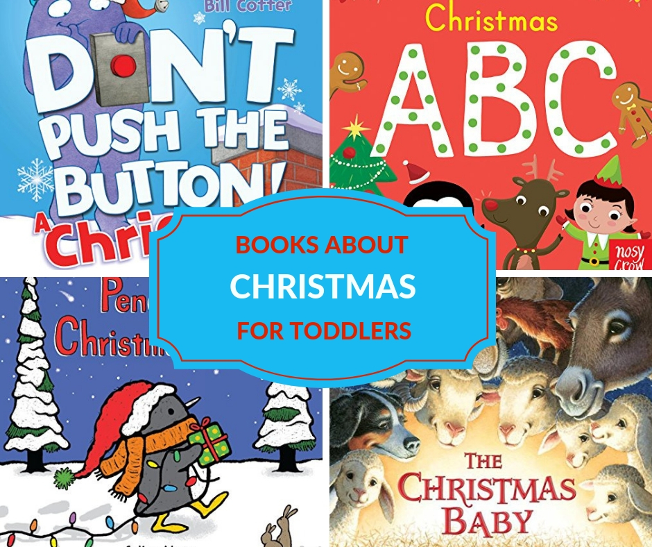 TODDLER BOOKS FOR CHRISTMAS