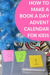BOOK ADVENT CALENDAR FOR CHILDREN