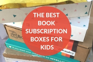 The best of the best book subscription boxes for children.