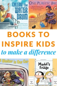 Making a difference in the world books for kids to inspire change.