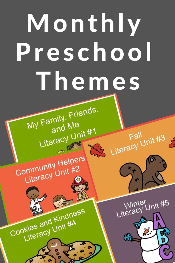 monthly lesson plans for preschool