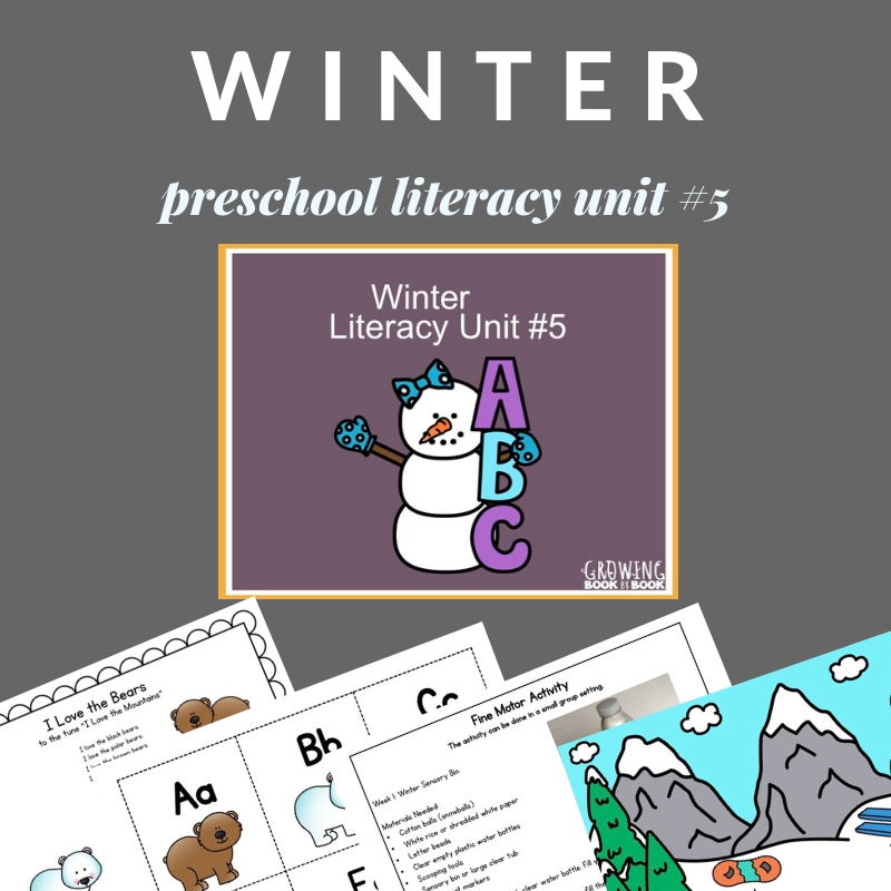 Winter lesson plans for preschool