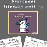preschool unit on winter- lesson plan ideas