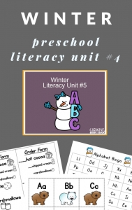 preschool unit on winter- lesson plan ideas