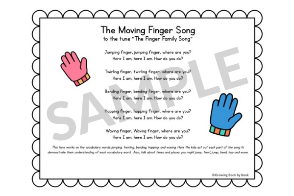 SAMPLE CIRCLE TIME SONG ABOUT HEALTHY PLAY