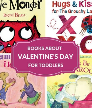 books to enjoy with toddlers to celebrate love and Valentine's Day