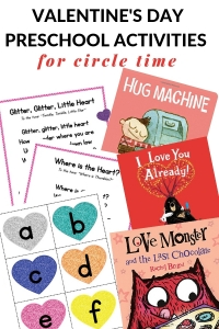 Preschool Valentine's Day Activities for Circle Time